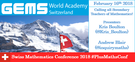 Swiss Mathematics Conference 2018